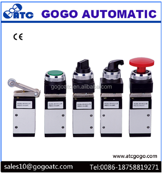 Various Mechanical handle manual Toggle Valve pneumatic air switch