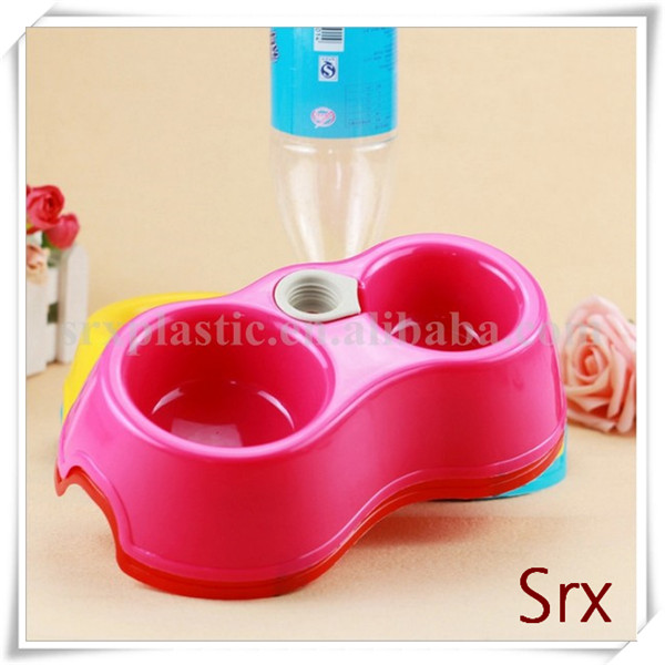 OEM Hot Plastic Candy Color Pet Dog Food/Water Feeder/Bowl/Dish Pet Products Manufacturer