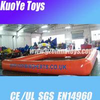 inflatable bumper car track