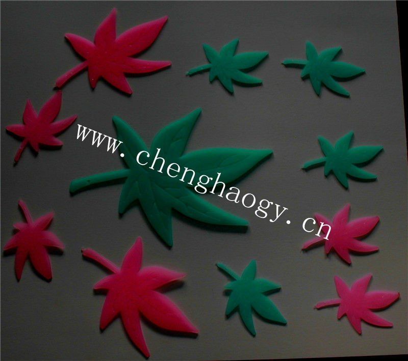 PP glow in the dark pvc moon stars night decor ceiling sticker