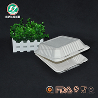 Biodegradable disposable lunch box food container from China