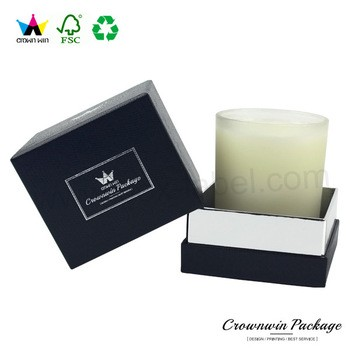 Wholesale Custom Candle Gift Box With InSerts Packaging