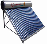 High Efficiency Heat Pipe Solar Water Heating for home/school/factory
