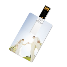 Silk Printing Custom Logo Cheap16gb 32gb Silm Usb 2.0 Business Card 2GB 4GB 8GB Plastic Credit Card Usb Flash Drive
