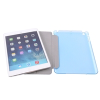 Factory Outlet Smart Flip Cover PU Leather Case For iPad mini