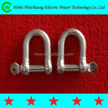 High Quality Link Fittings/ Thimbles U Shackle and U Clevis for Electric Hardware