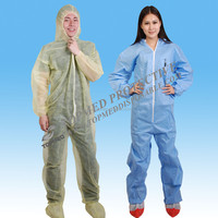 Polyester ESD workwear clothing,Cleanroom nonwoven coverall