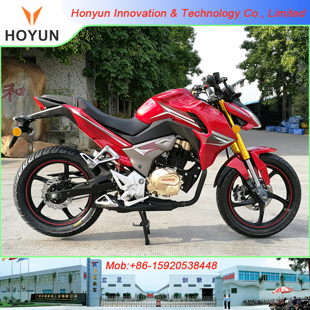 Hot sale in Peru HOYUN NAMI CB190R CBR190 racing motorcycles