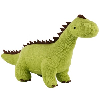 Knitted Toy Plush Stuffed Dinosaur Toys for Sale