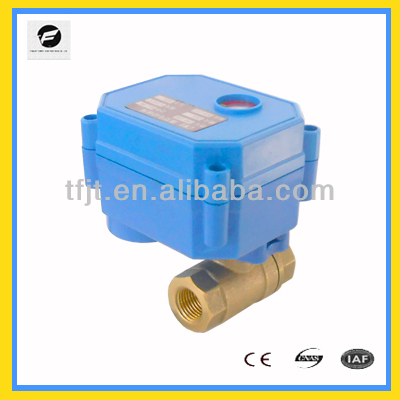 DN10 Electronic Actuator Controlled Valve Without manual override and indicator for filtration system