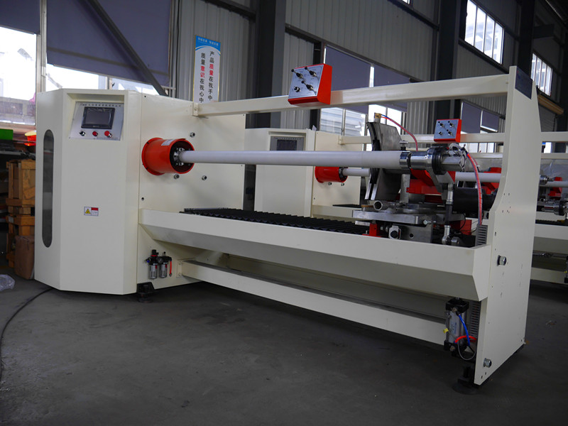easy operation automatic paper/tape roll cutting mach
