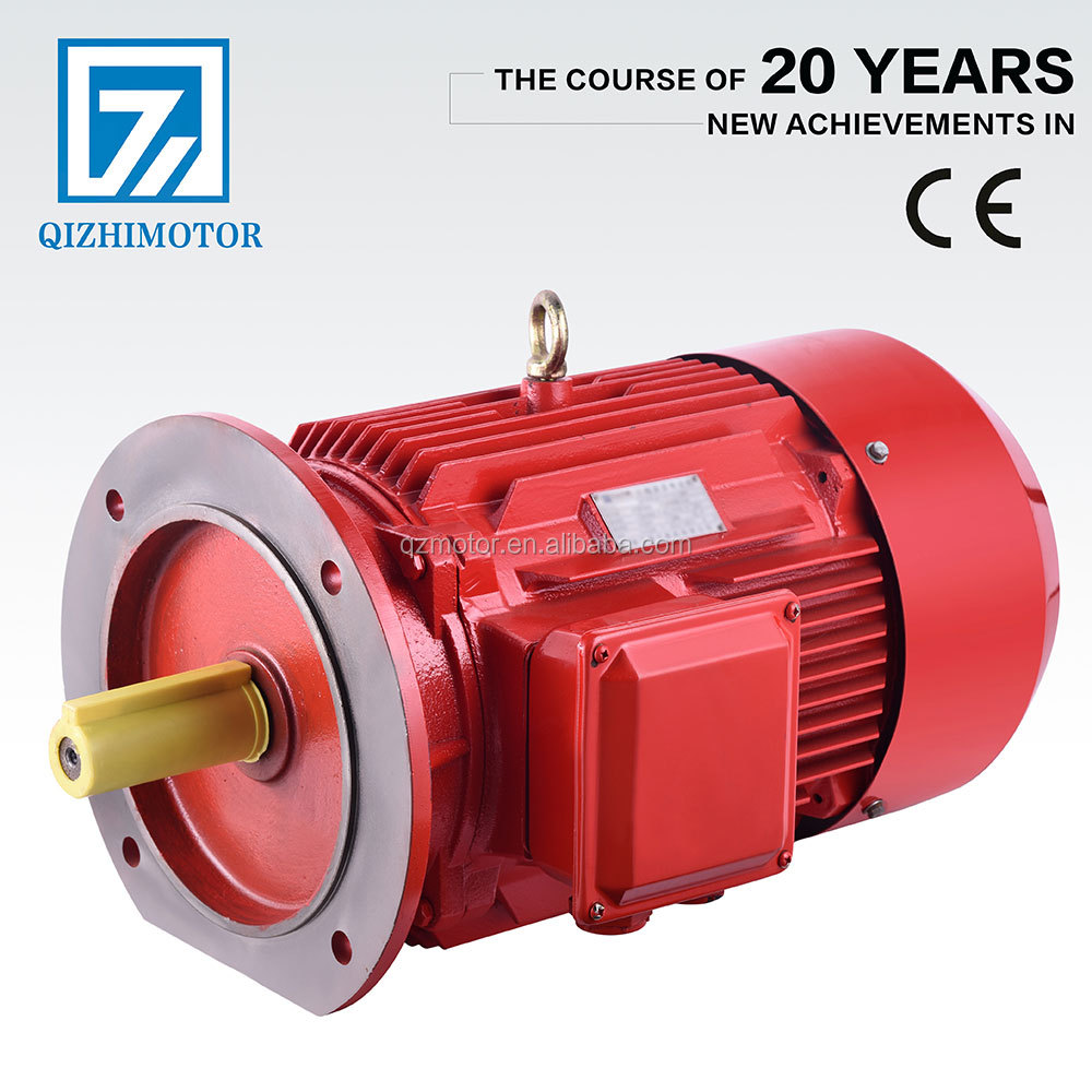 2 Pole 2.2 KW 3 HP three Phase Electric 240V 2800 RPM motor