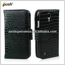 Direct Factory Price Flip PU Leather For Samsung Galaxy S4 Cover Case