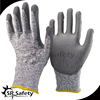 SRSAFETY 2016 new style 13 gauge Cut level 5 protective gloves cutting free sample offered,anti kife cut gloves