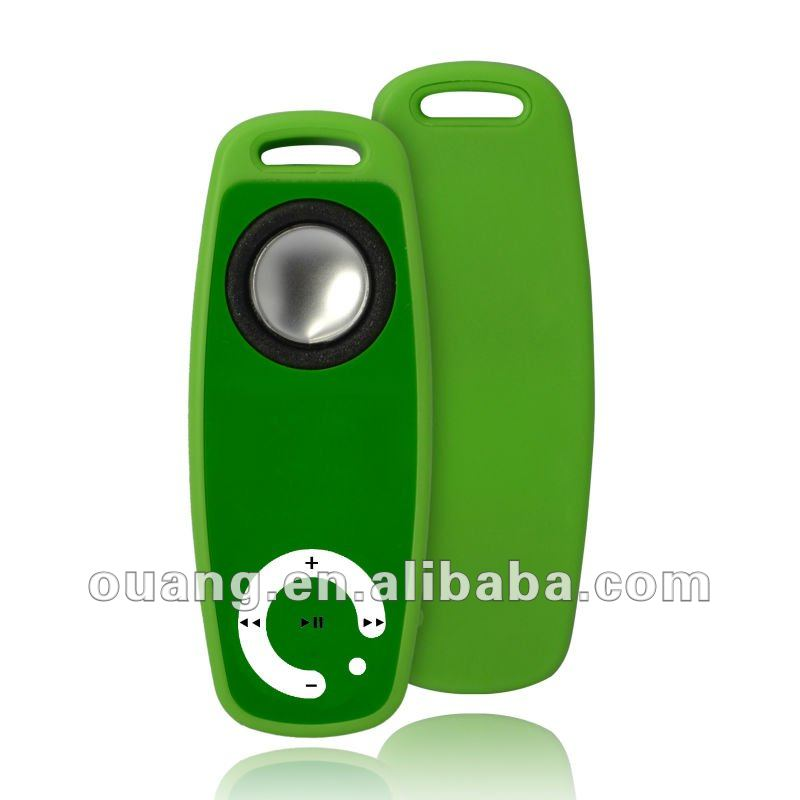 OEM cheap mp3 player without screen with earphone and built in speaker FM