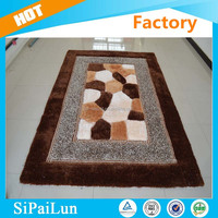 Customized best-selling plain silk carpets and rugs