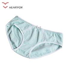 Fashionable Women Cotton Panties Teen Girls Plain Underwear
