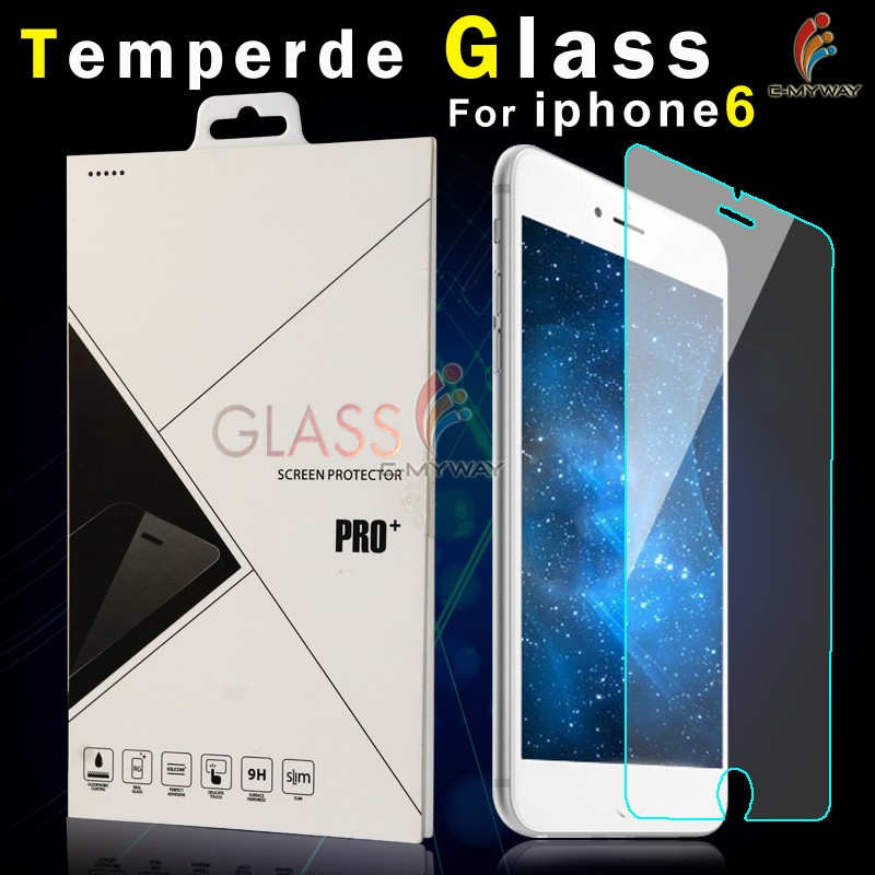 Factory supply 9H Hardness Whole transparency Anti-Bubble anti-oil unbreakable tempered-glass screen protector for iPhone5 5c 5s