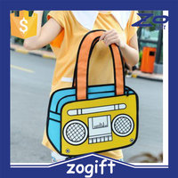 ZOGIFT Wholesale fashion nylon 3D sports bags cartoon sports bags 3D sports backpacks