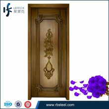door factory hot sale walnut wood carved doors wood internal