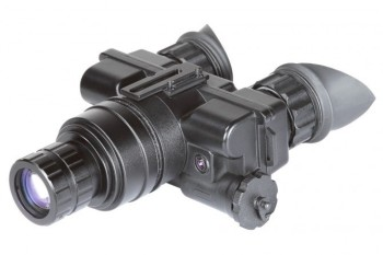 Optical night vision goggles for military and police with helmet
