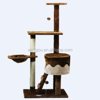 Wholesale Cat tree & cat scratching tree & cat tree house