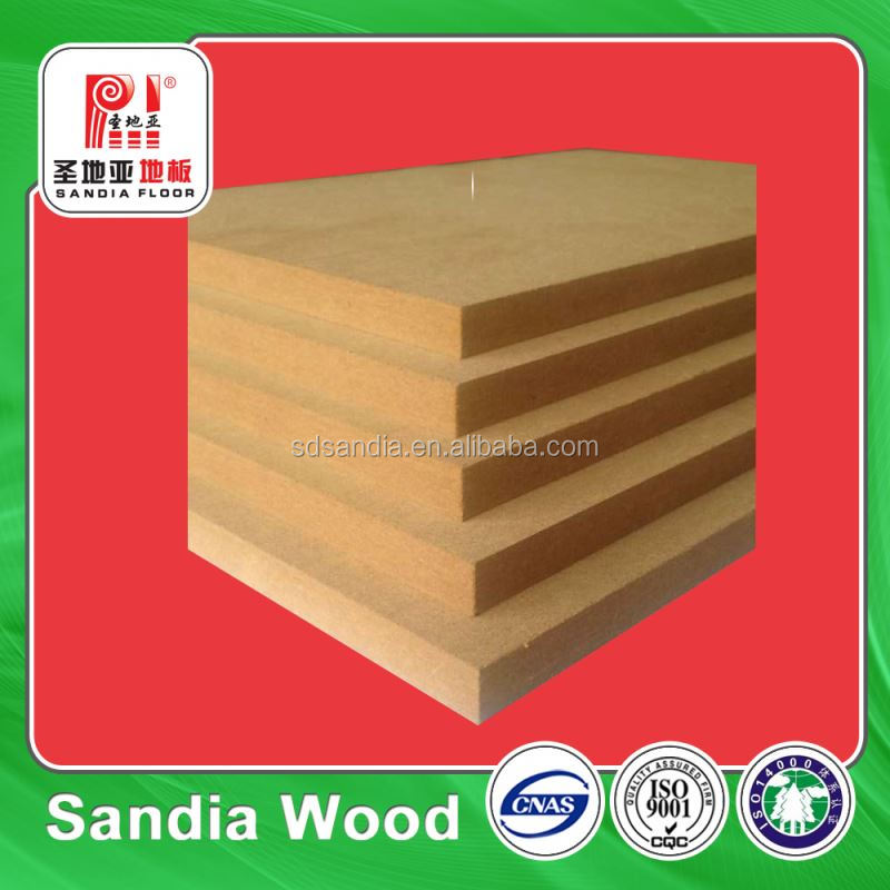 Eco Fiberboard Melamine Faced Waterproof MDF 18MM