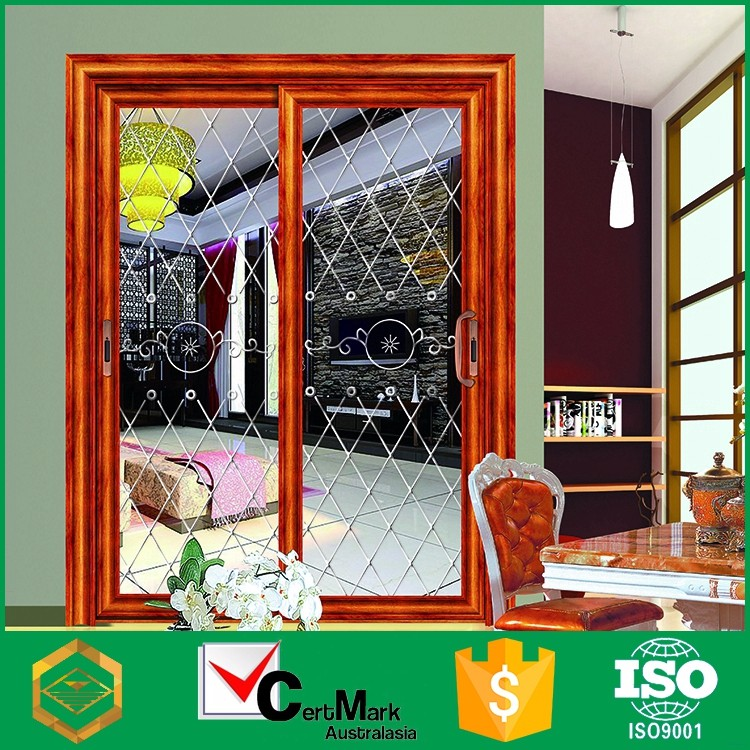 Factory price high quality fashionable aluminum pantry sliding doors
