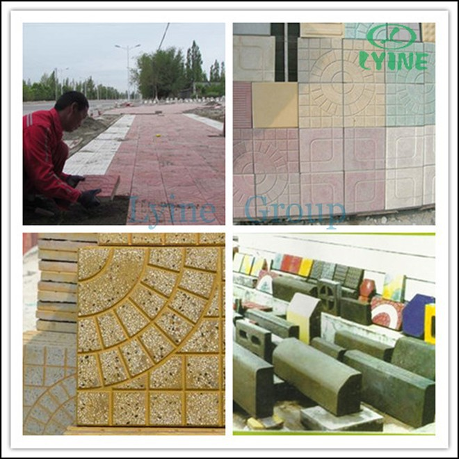 interlocking tile mold paving stone forms