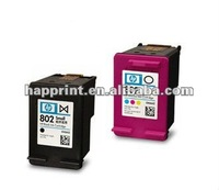 Compatible inkjet cartridge for hp 802 refill cartridge