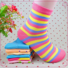 wholesale custom print oem 100% organic cotton socks for women,alibaba very cheap socks Trade Assurance