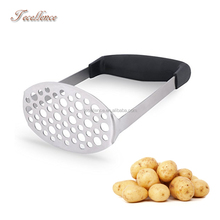High Quality Kitchen Accessories Stainless Steel Potato Hand Masher Machine,Stainless Steel Potato Ricer Masher