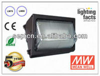 led wall pack 80w UL outdoor led tunel lighting 5 years warranty IP65 meanwell driver