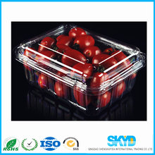 High quality plastic fruit tray,Plastic blister fruit tray, PET cherry tomato tray