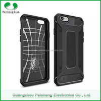 Shock proof custom carbon fiber pattern silicon mobile phone case cover for iPhone 6 / 6s