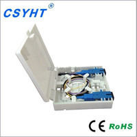 2core Optical fiber wall mount face plate--FP-009