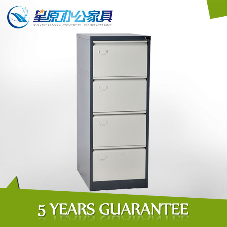 KD cheap office steel 4 drawer metal filing cabinet