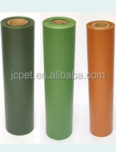 New design Roll Package Green PVC Sheet for Christmas Tree with high quality