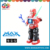 battery operated medium robot with light and music battery operated robot can 360 degree rotation fun electrical robot for child