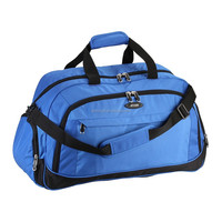 Lightweight Sports Gym Duffle Bag With Water Bottle Holder Fashion Nylon Tote Travel Storage Case
