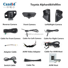 Newest OEM/ODM for 3D 360 bird view monitor without calibration for Toyota Alphard &Vellfire