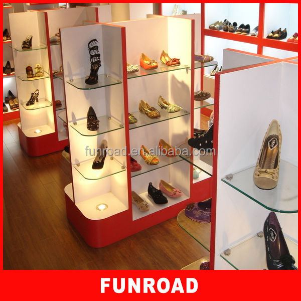 Slipper Stand Designs : Custom wholesale floor shoe store display shoes metal