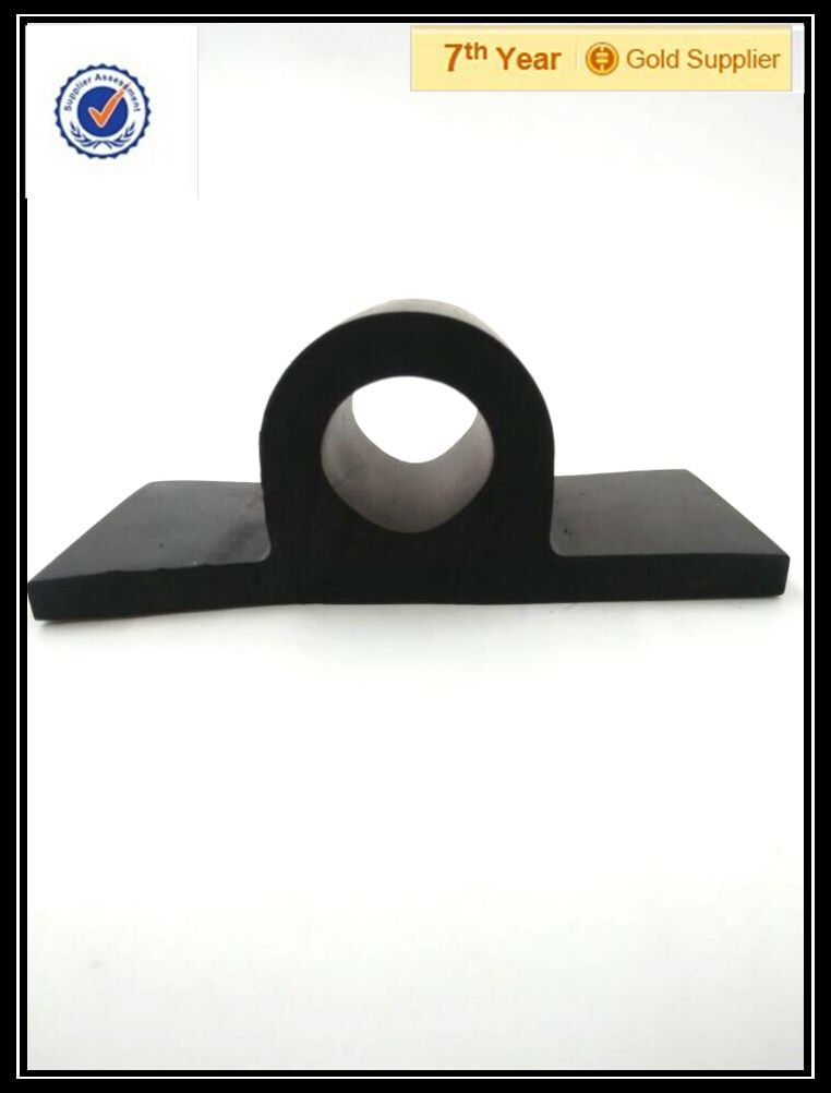 Different material extruding rubber