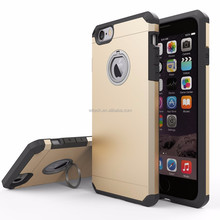 Free sample 360 degree rotate finger stand armor case cover 2 in 1 TPU+PC for iPhone 7 case