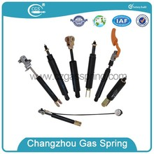 locking gas spring with height adjustment and even force distribution