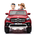WDXMX606 Licensed Mercedes Benz X-class electric car toy 2 baby sit