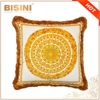 Italian New Design Baroque Style Velvet Fabric Throw Pillow/ Fancy Medusa Throw Pillow Cover/ Home Decorative Sofa Cushion