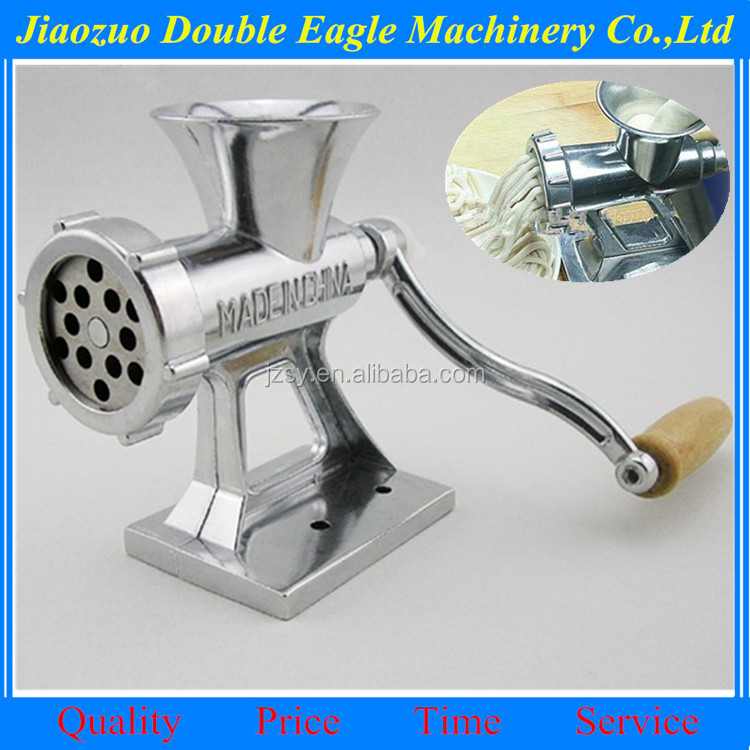 mini manual meat grinder Home use meat machine mincer small sausage making machine noodle and sausage maker sausage filler
