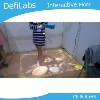 Best price DEFI Interactive floor projection system / 120 different effects and necessary hardware free shipping