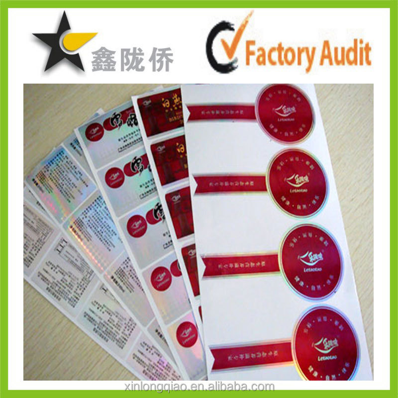 Professional manufacturer in China offer various of packing Sticker Label Main Label